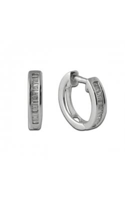 Diamond Hoop Earrings's image